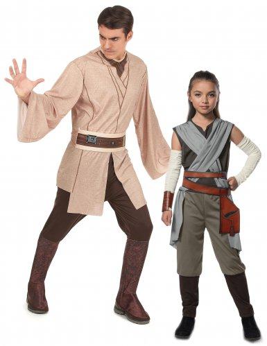 Star Wars™ Jedi & Rey -naamiaisasusetti aikuiselle ja lapselle