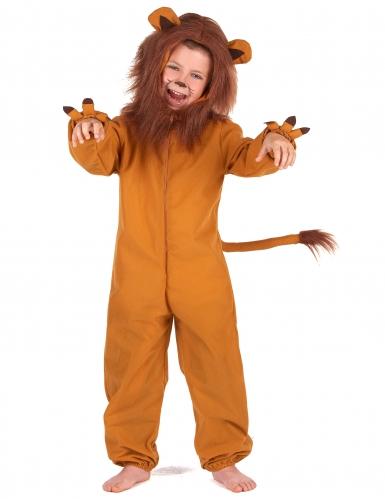 Leijona naamiaisasu lapselle