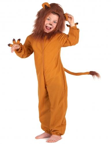 Leijona naamiaisasu lapselle-1