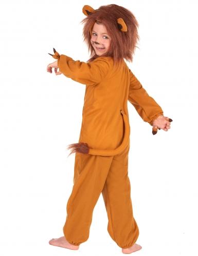 Leijona naamiaisasu lapselle-2