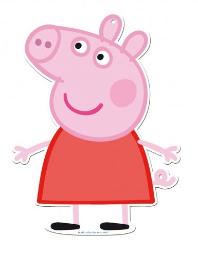 2 Peppa Pig™ seinäkoristetta 30 cm