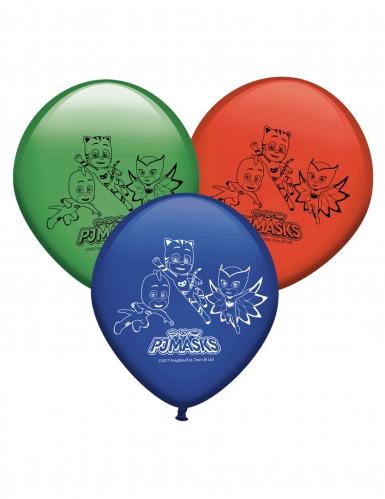 8 Lateksista Pyjamasankari™ ilmapalloa