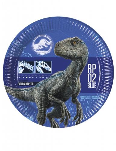 Jurassic World 2™-pahvilautaset 23 cm 2 kpl