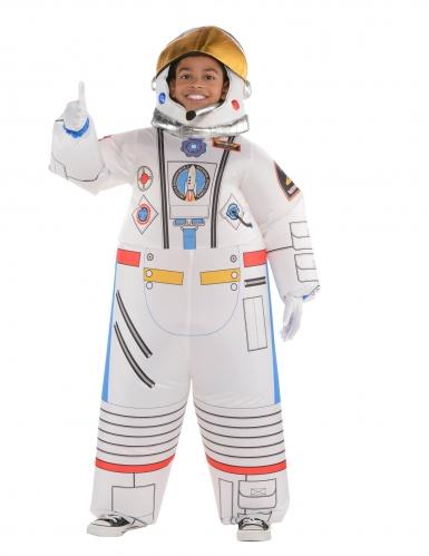 Astronautin puhallettava naamiaisasu lapselle