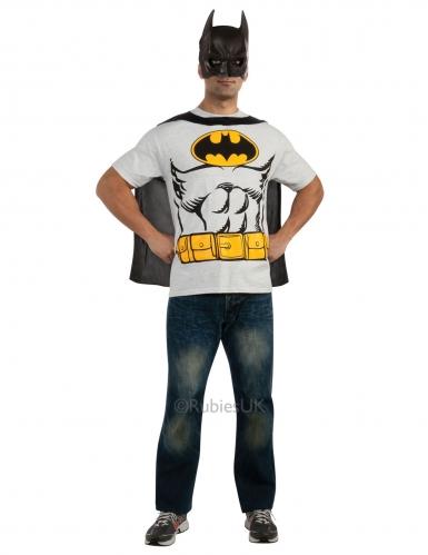Batman™ t-paita ja naamari aikuiselle