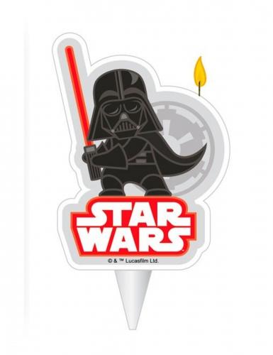Star Wars™ Dark Vador syntymäpäivä kynttilä 2D 7,5cm
