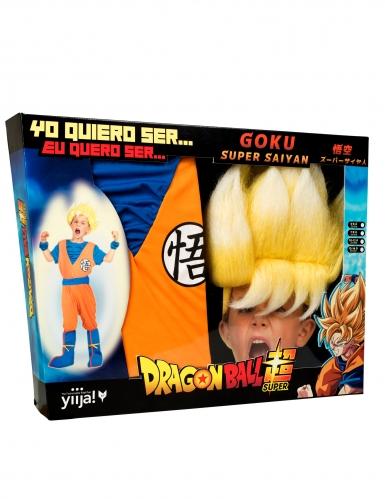 Super Saiyan Goku Dragon Ball™-naamiaisasusetti lapselle-3