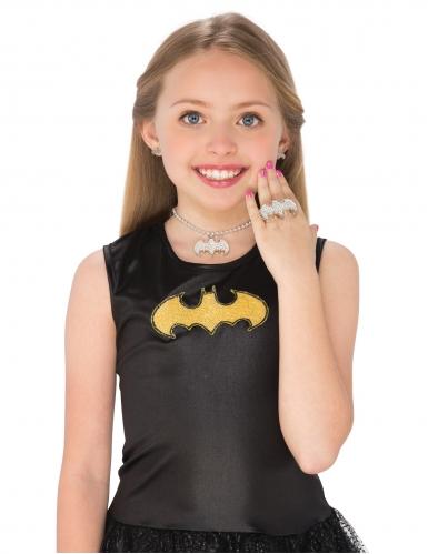 Batgirlin™-korvakorut, kaulakoru ja sormus