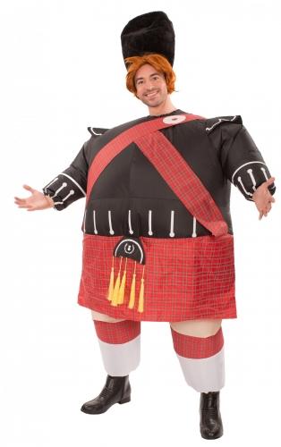 Ilmatäytteinen skotlantilainen-naamiaisasu aikuiselle
