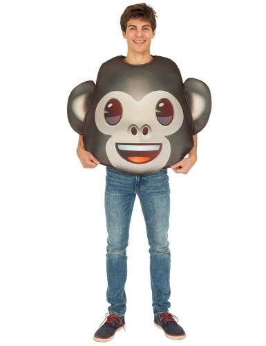 Apina-Emoji™-naamiaisasu aikuiselle