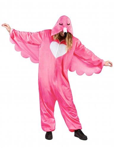 Flamingon naamiaisasu naiselle-1