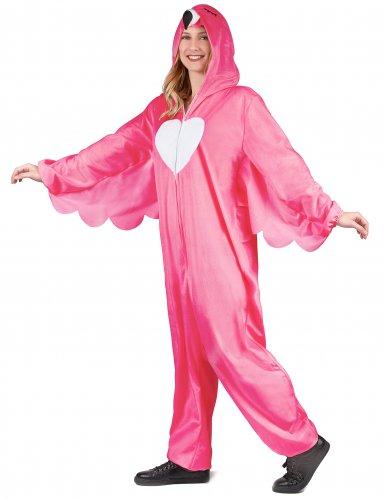 Flamingon naamiaisasu naiselle-2