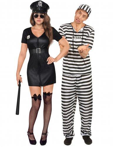 Poliisi ja vanki- pariasu aikuisille
