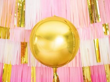 Kullanvärinen alumiini-ilmapallo 40 cm-1