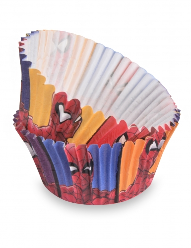 Spiderman™-kuppikakkuvuoat 50 kpl 7 cm
