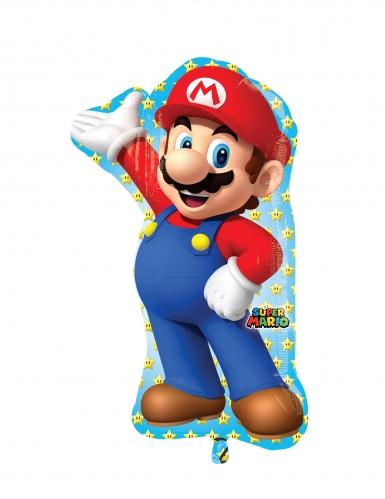 Super Mario™- alumiininen ilmapallo 55 x 83 cm