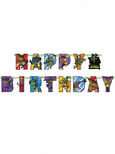 Teini-ikäiset mutanttininjakilpikonnat™ -Happy Birthday-köynnös 200 x 15 cm