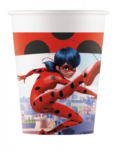 Miraculous Ladybug™- pahvimukit 200 ml 8 kpl