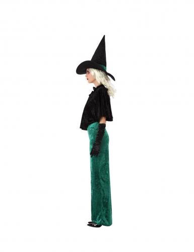 Vihreän noidan naamiaisasu naiselle-1
