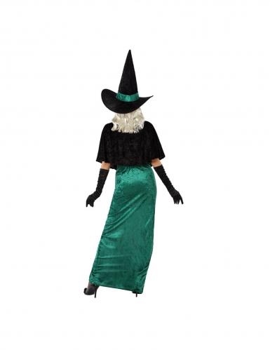 Vihreän noidan naamiaisasu naiselle-2