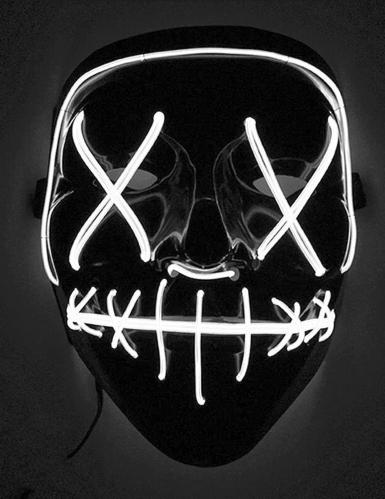 Valoisa LED- naamari aikuiselle