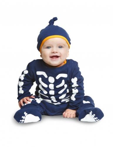 Sinisen luurangon naamiaisasu vauvalle