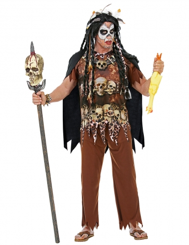 Voodoo- papin naamiaisasu miehelle