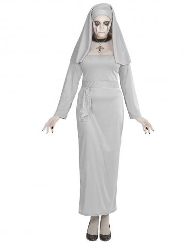 Kammottavan nunnan naamiaisasu naiselle-2