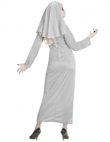 Kammottavan nunnan naamiaisasu naiselle-3