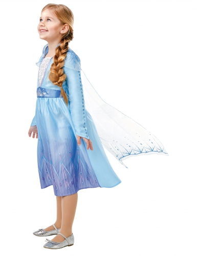 Klassinen Frozen 2™ Elsan naamiaisasu tytölle -1