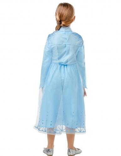 Klassinen Frozen 2™ Elsan naamiaisasu tytölle -2