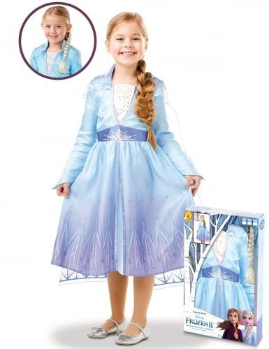 Frozen 2™ Elsan naamiaisasusetti ja letti tytölle