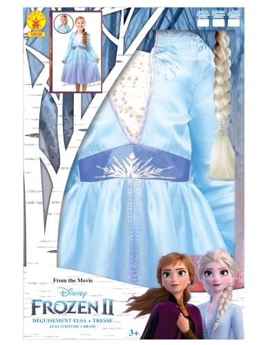 Frozen 2™ Elsan naamiaisasusetti ja letti tytölle-4