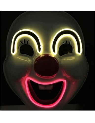 Hauskan pellen LED-naamari aikuiselle-1