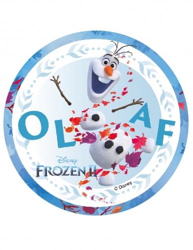 Frozen 2™-kakkukuva Olaf 14,5 cm