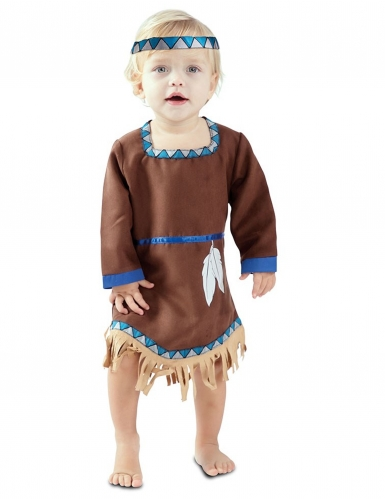 Pieni intiaanimekko vauvalle