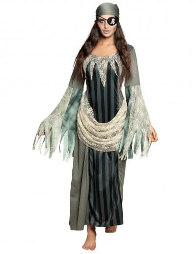 Pitkä kummituksen mekko naiselle