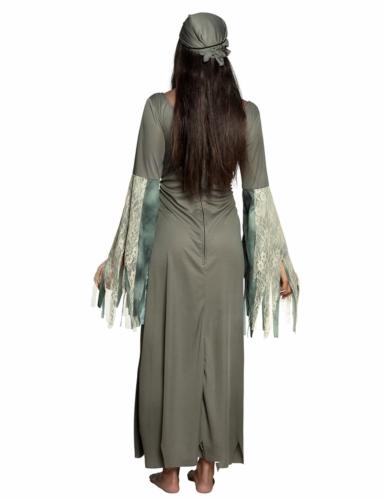 Pitkä kummituksen mekko naiselle-1