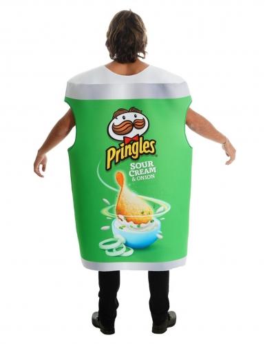 Pringles™-naamiaisasu vihreä aikuiselle-1