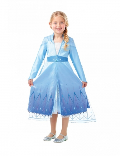 Frozen 2™ Elsan naamiaisasu tytölle, Premium-2