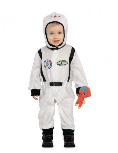 Astronautin naamiaisasu ja pieni alien vauvalle