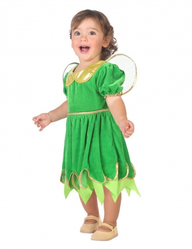 Vihreä keijuasu vauvalle