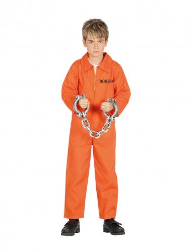 Oranssi vangin naamiaisasu pojalle