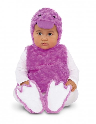 Pieni violetti ankka-asu