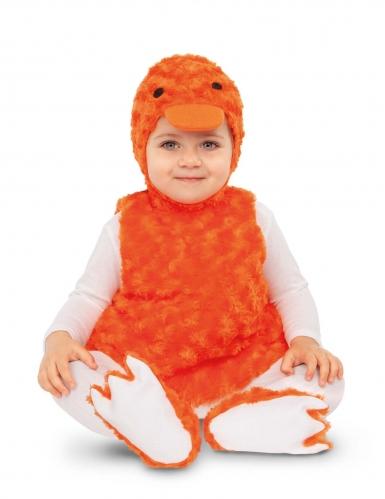 Pieni oranssi ankka-asu