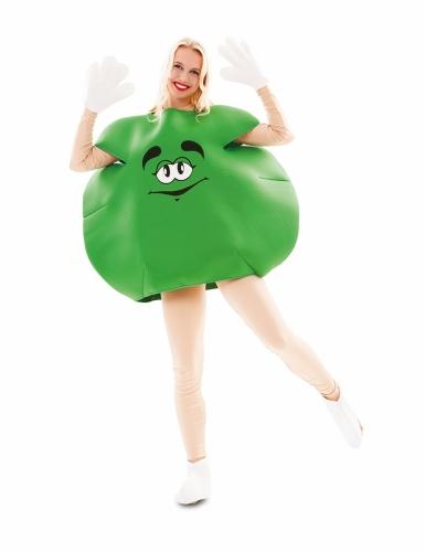 Vihreä karkki-asu aikuiselle-1