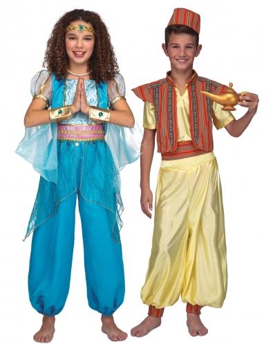 Itämaisen prinsessan ja prinssin pariasu lapsille