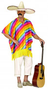 Aikuisten meksikolainen poncho!