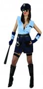 Naisellinen poliisin asu