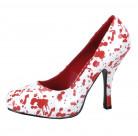 Veriset halloween-kengät naiselle